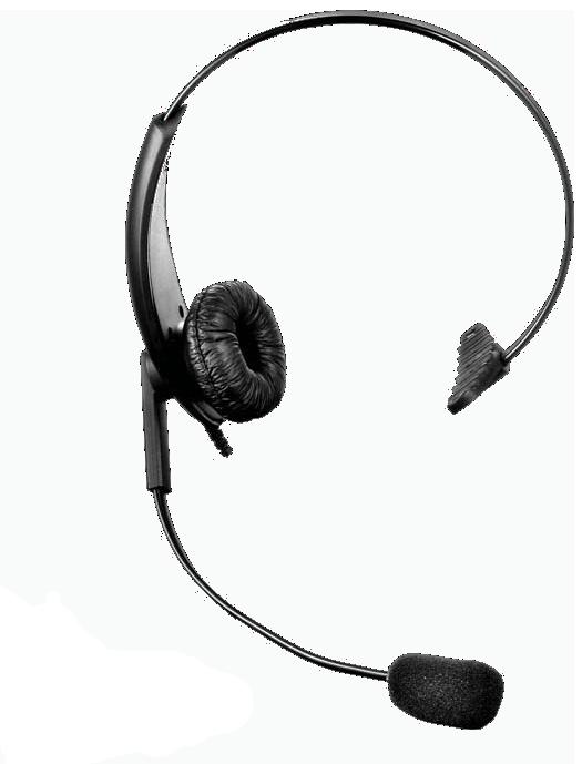 DTS Value Range Lightweight Headset with Inline PTT