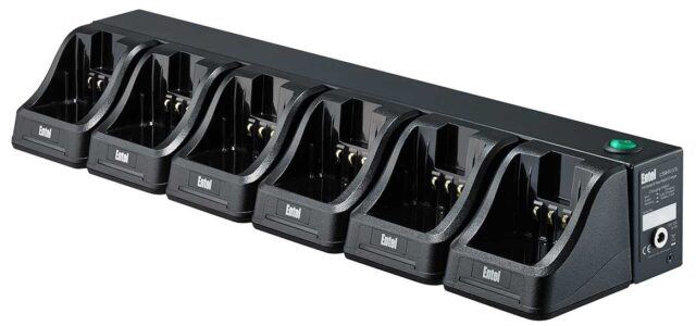 CSBHT Entel Six Unit Rapid Charger for HT/DT Series