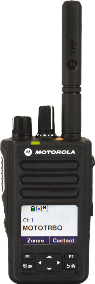 Motorola Solutions MOTOTRBO™ DP3661e Digital Two-Way Radio