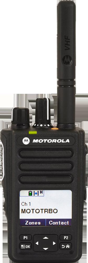 Motorola Solutions MOTOTRBO™ DP3661e Digital Two-Way Radio