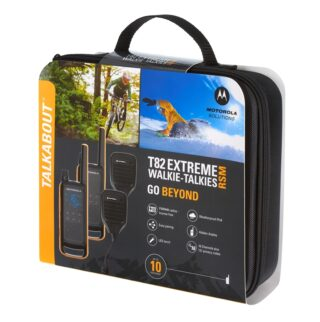 motorola solutions t82 extreme rsm twin pack