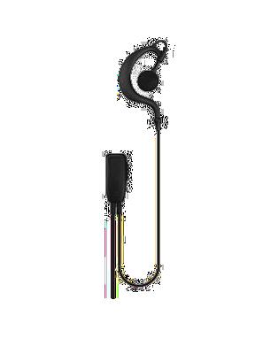 DTS Value Range G-Shape Earpiece with Mic/PTT