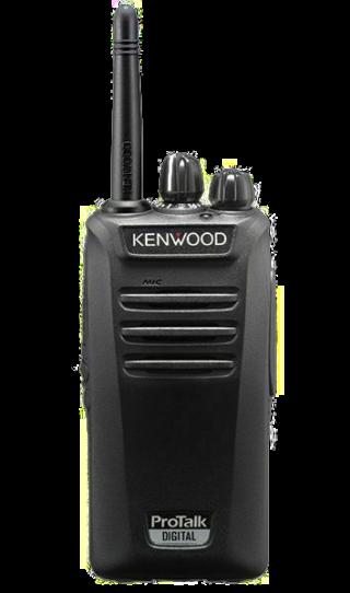 Kenwood TK-3401d radio front