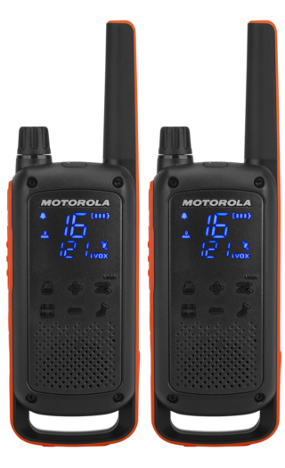 Motorola solutions T82 talkabout twin pack front