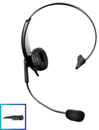 LHM06 DTS Value Range Lightweight Headset with PTT