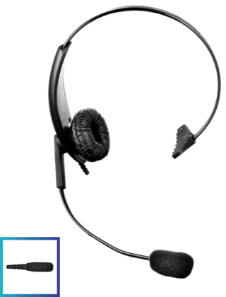 LHM05 DTS Value Range Lightweight Headset with PTT