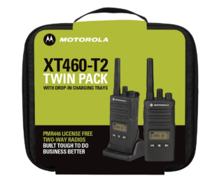 Motorola Solutions XT460 Twin Pack