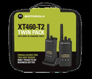 Motorola Solutions XT460 Twin Pack