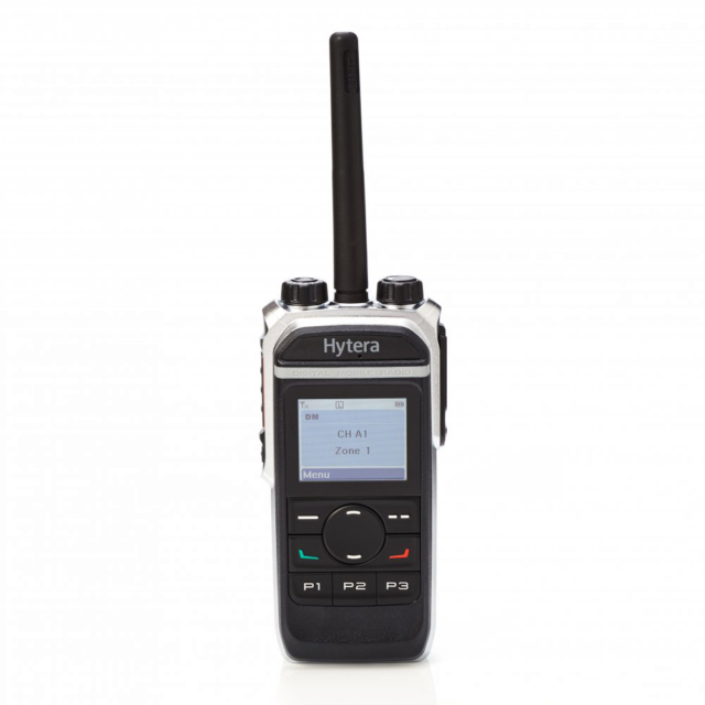 Hytera PD665 PD665G radio front