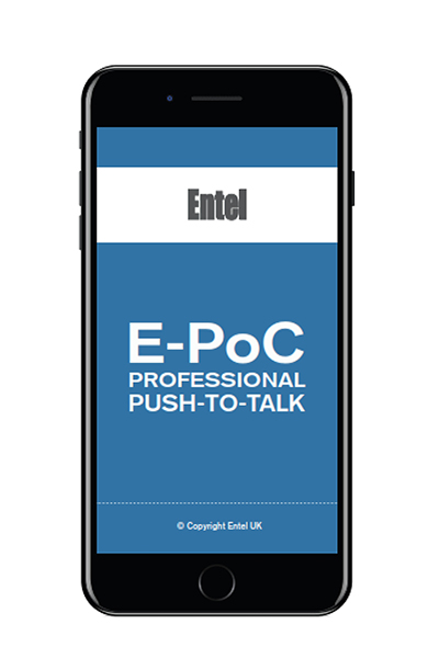 Entel E-PoC IOS/ Android Mobile App