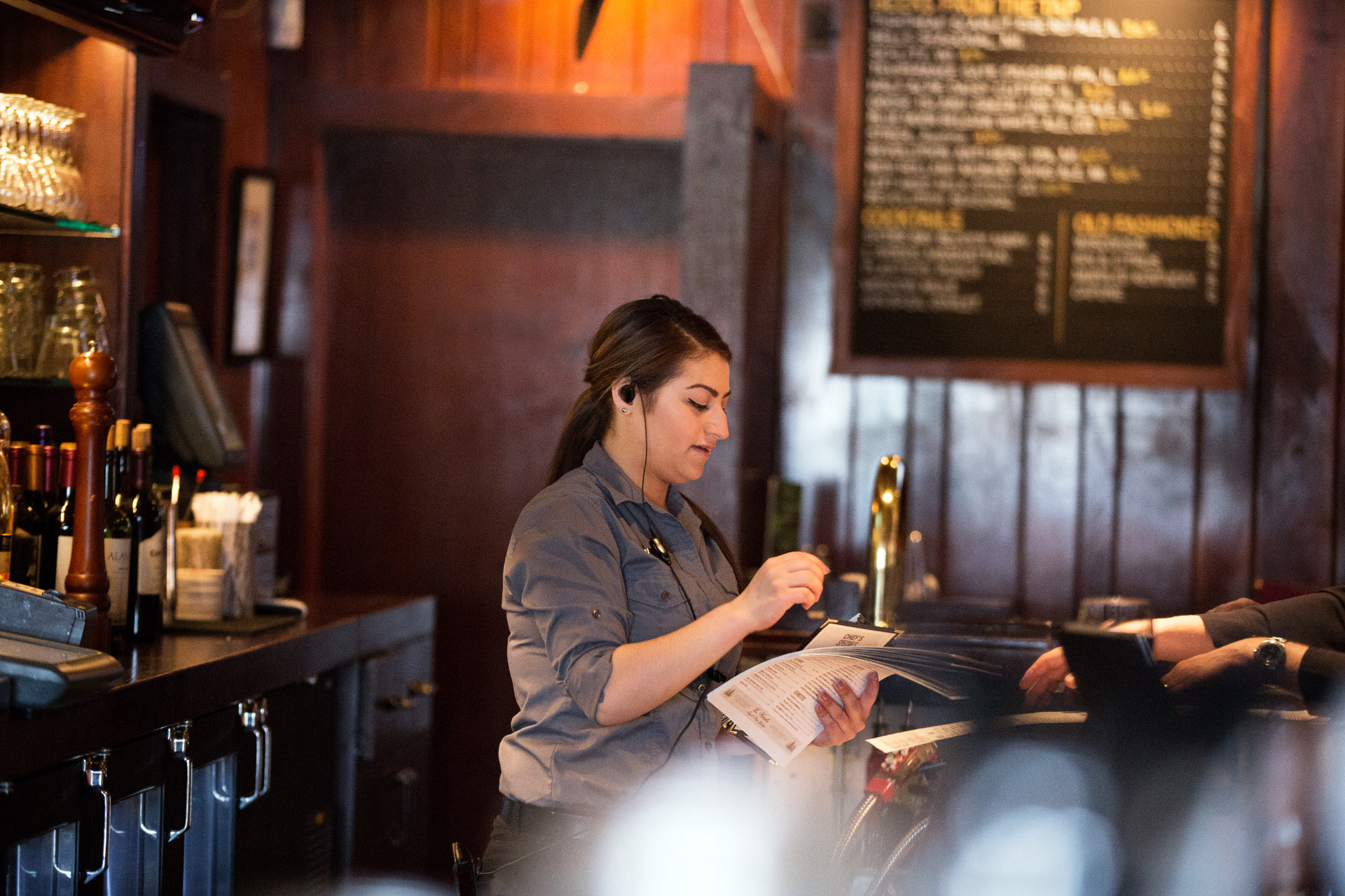 Two-way radios for Restaurants