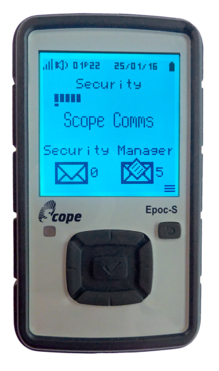 Scope EPOC-S Critical Alert Communicator