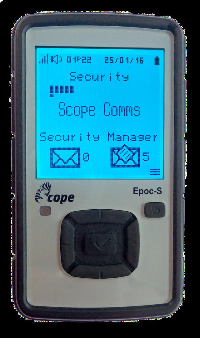 Scope EPOC-S Critical Alert Communicator