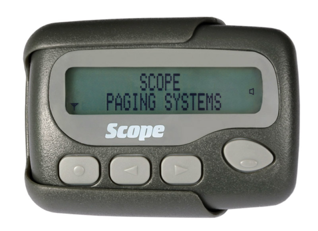 Scope GEO40A9M 40-character text pager