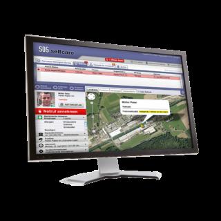 Swissphone SOS-Portal