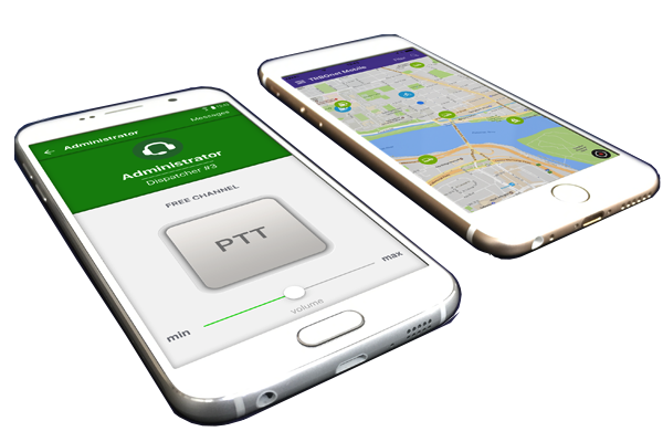 TRBOnet mobile app used with MOTOTRBO™ system