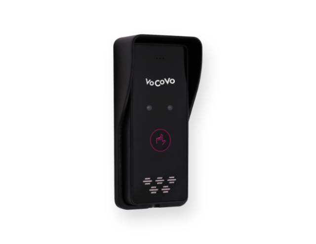 VoCoVo Touch IP65 external call point with mount box