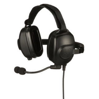 PMLN6852A - Noise Cancelling Heavy Duty Headset IP54 to suit Motorola Solutions DP4000/e series radios