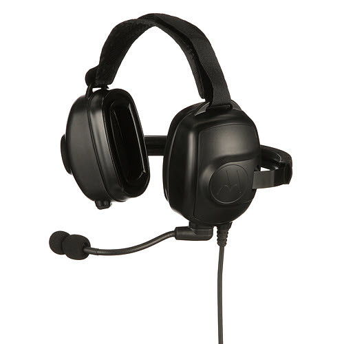 PMLN6853A - Motorola Solutions Noise Cancelling Heavy Duty Headset to suit Motorola Solutions DP4000/e series radios