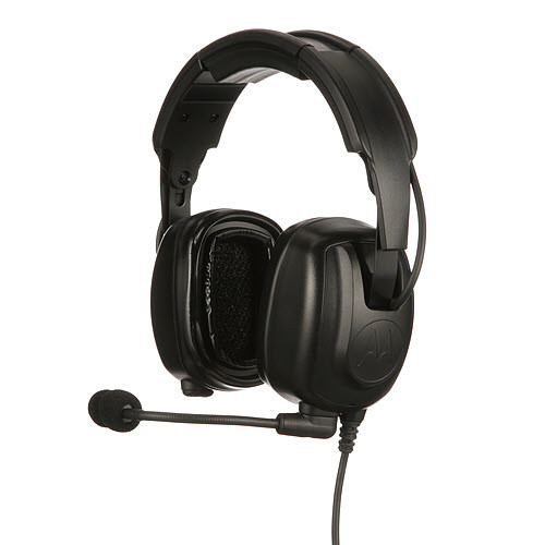 PMLN7466A - Motorola Solutions Heavy Duty Over-The-Head Headset to suit Motorola Solutions DP4000/e series radios.