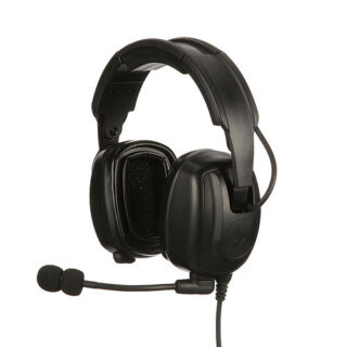 PMLN7467A Motorola Solutions Heavy Duty Over-The-Head Headset IP54 - Headband Version - TIA4950