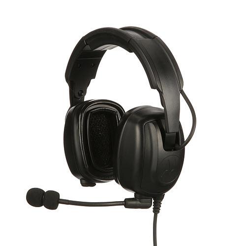 PMLN7467A Motorola Solutions Heavy Duty Over-The-Head Headset IP54 - Headband Version - TIA4950