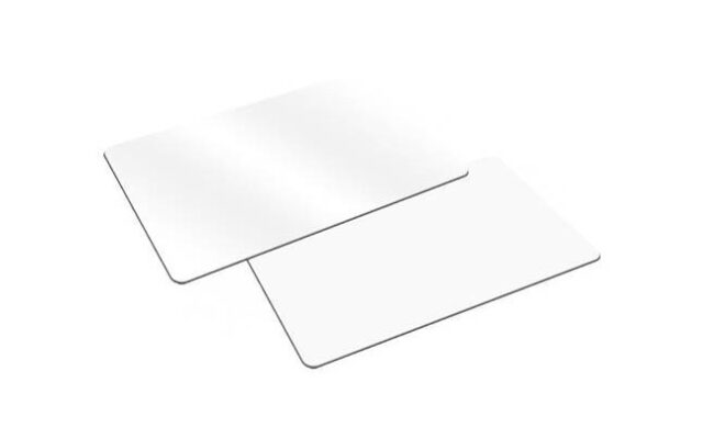 RF-CARD-10 – RFID plastic cards (white). Pack of 10.