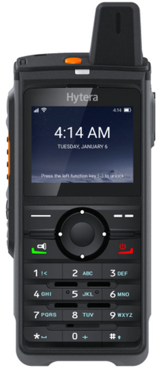 Hytera PNC380 Push-to-Talk over Cellular (PoC) Radio