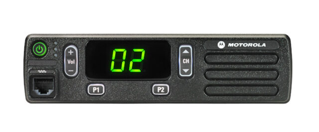 Motorola Solutions MOTOTRBO™ DM1400 mobile radio
