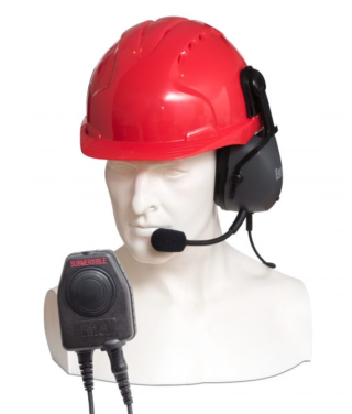 CHPHS/DT9 Entel Single Earpiece Ear Defender (hard hat use only) with VOX