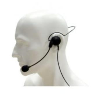 CHP1/750 Entel Lightweight Earpiece Headset with PTT