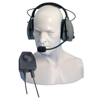 CHP750D Entel Double Ear-Cup Defender with Large PTT
