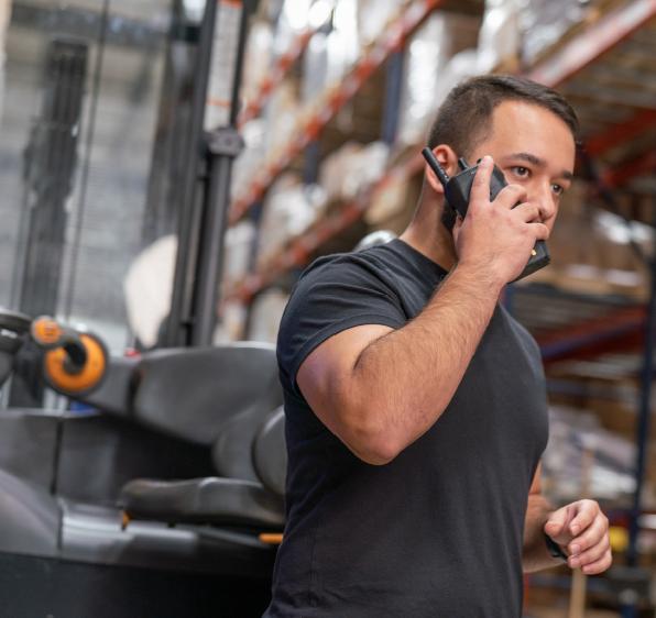 Introducing the Motorola Solutions MOTOTRBO™ ION Smart Radio!