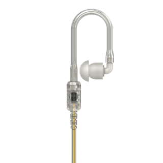 PMLN8120A Motorola 3.5mm Receive Only Xtra Loud Translucent Tube RSM Earpiece