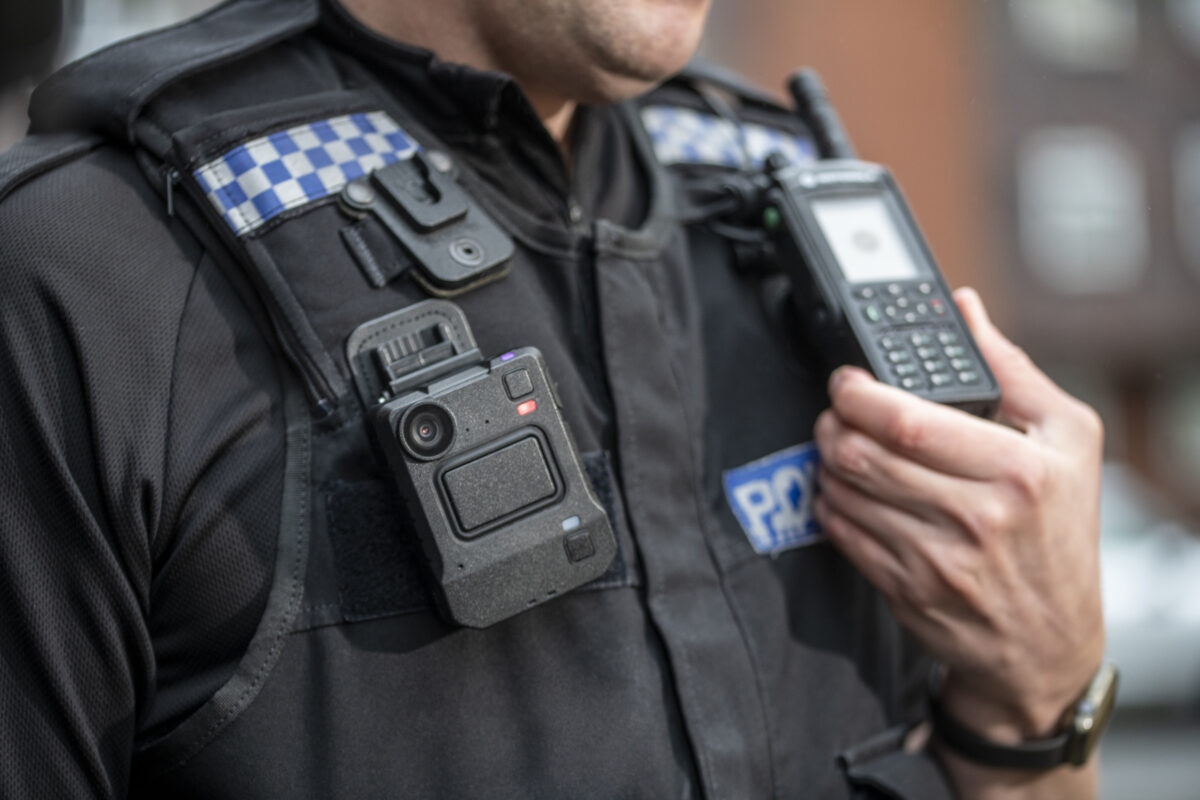 Safety First. Frontline Ready with Body-Worn Cameras
