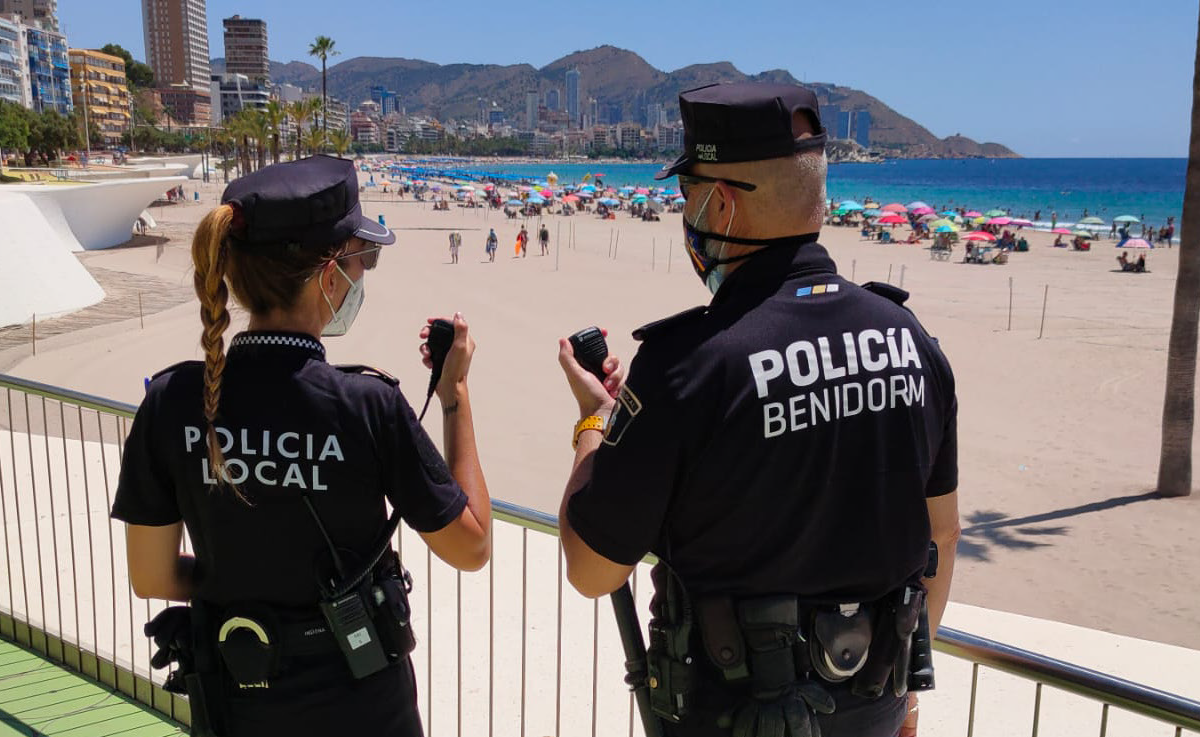 BENIDORM COUNCIL UPDATES LOCAL POLICE COMMUNICATIONS